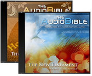 The Audio Bible Set album covers